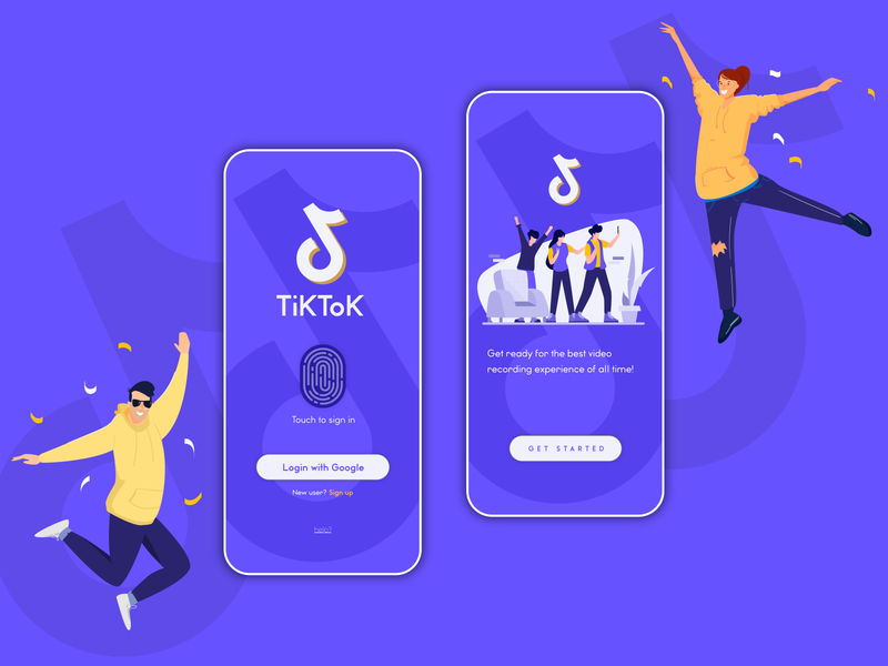 TikTok - Fresh Concept tiktok video app design inspiration design of the day web illustrator creative design app adobe xd branding ux ui adobe illustrator design