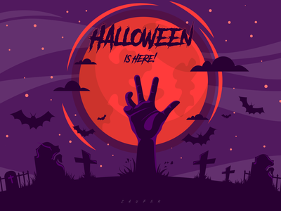 Halloween is here! halloween party minimal art horror horror art october spooky weekly challenge dribbbleweeklywarmup halloween logo icon flat illustrator vector adobe illustrator illustration design