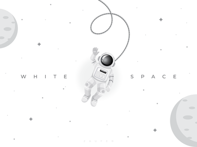 White Space white background whitespace logo minimal design inspiration ux flat illustrator vector adobe illustrator illustration design