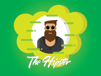Hipster - Illustration