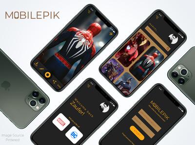 Mobilepik - Concept Wallpaper App