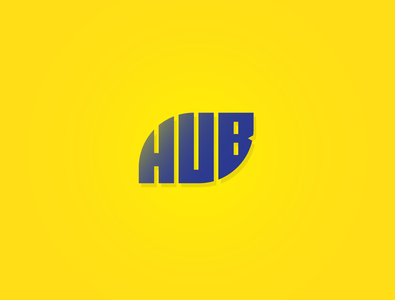 Hub - The logo concept