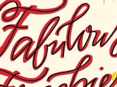 Fast & Loose! Kiplinger's Magazine typography digital lettering hand lettering published freelance editorial handlettering script lettering