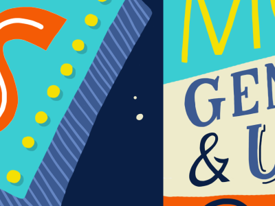 WIP Editorial Lettering + Illustration