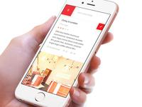 Medical Site - Concept iteration - Mobile concept portal medical responsive design app mobile