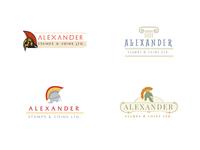 Alexander Stamps & Coins Ltd. Branding Mockups