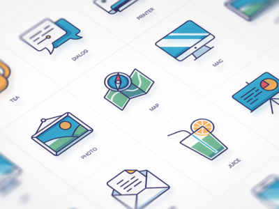 Free Vector Icons (Preview) vector iconfont free ui mail dialog juice photo map preview flat icons