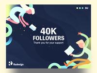 40K Followers