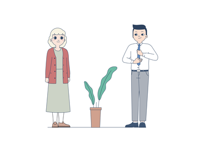 Colleagues Part 3 design character graphic illustration