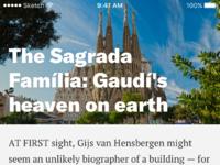 Article sagrada