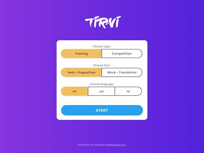 Tirvi | Learn Hebrew learning test project ux ui hebrew app web interface