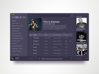 Clementine Music Player Redesign