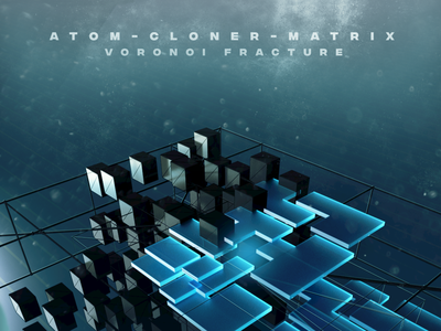 Atom-Cloner-Matrix-Voronoi Fracture C4D dailyrender specular octanerender cloner art abstract design abstraction 3d art abstract abstract art c4d interaction c4dart