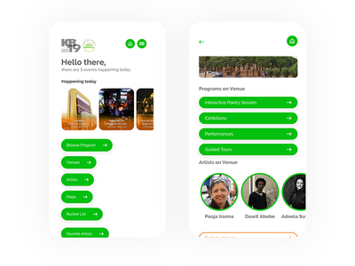 Visitor Guide App - Ecology