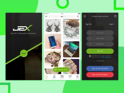 JEX-App - BUY & SELL