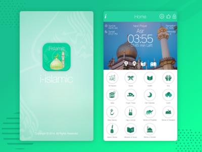 i-Islamic App - World Prayer Timings & Qibla Direction