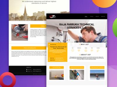 RFTC  Website - Home Services