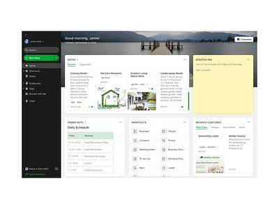 Home web ui app