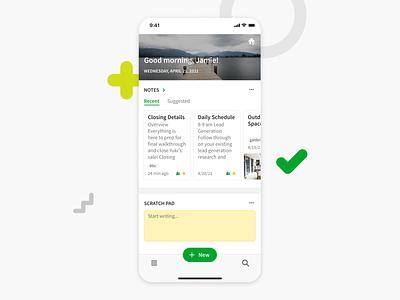 Home: Mobile version mobile ux design ui app