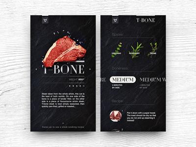 Steak Cooking App