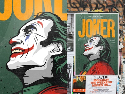 Joker art vectors draw dc comics joker movie joker illustration illustrator design