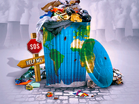 Trash World Flyer
