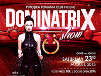 Dominatrix Flyer