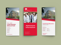 Boston University brochures