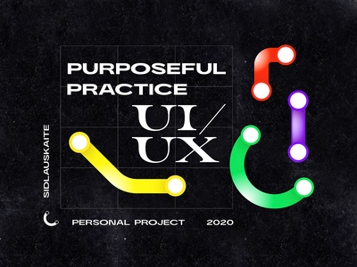 Purposeful practice UI/UX passion project personal project branding graphicdesign project process black data visualization ui  ux practice