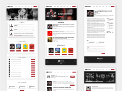 Podfluence Website Design