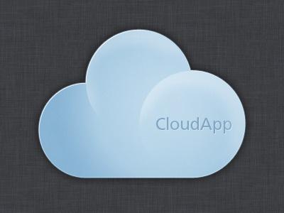 CloudApp blue cloud app