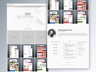 Personal Website Update figma portfolio webdesign website ui ux