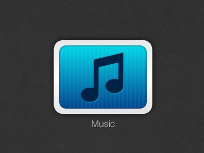 Music icon vector blue adobe fireworks