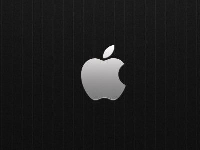 Elegant Apple apple dark minimalistic desktop