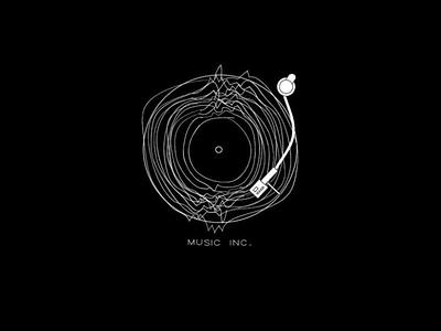 Logo Design for a Music Co. graphic illustration music art music app music animation flat icon vector branding logo design