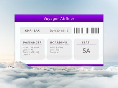 boarding pass - 024