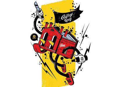 BeerMan art vectorart adobeillustration adobe illustration design funart character logotype logo vector borabula