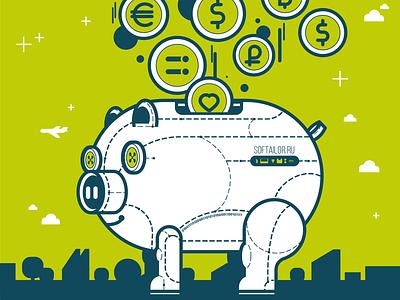Pork design funart adobe art character adobeillustration vectorart illustration vector borabula