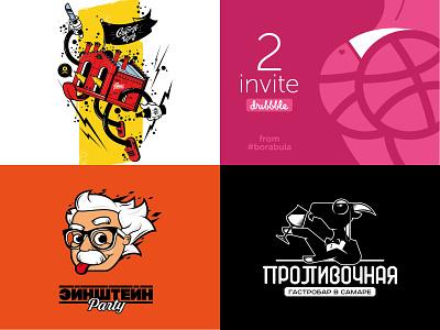 TOP 2018 typography brand funart design adobeillustration adobe logotype character vectorart logo art illustration vector borabula