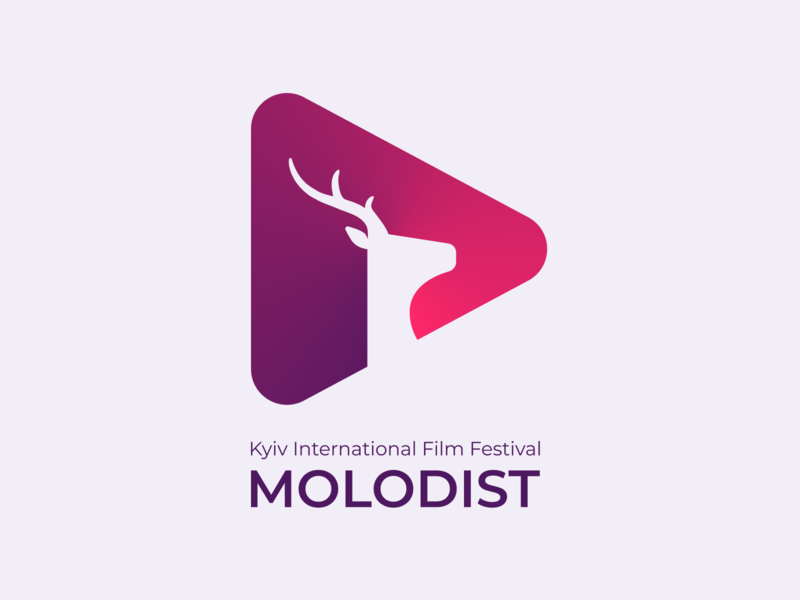 Molodist Kyiv International Film Festival festival movie film deer logo deer mockup identity design identity logodesign logo logotype