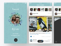 Glanz - Wedding App UI/UX