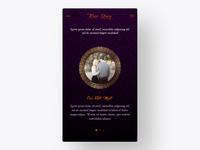 Grandiose - Wedding App UI/UX