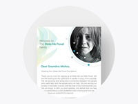 Email Template for NGO