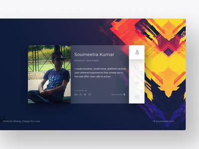 Personal Website UI/UX