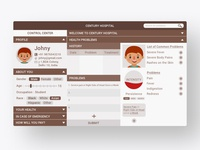 Patient Dashboard UI/UX