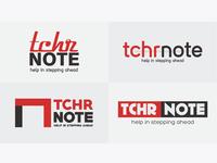 TCHR NOTE Logo Design Samples