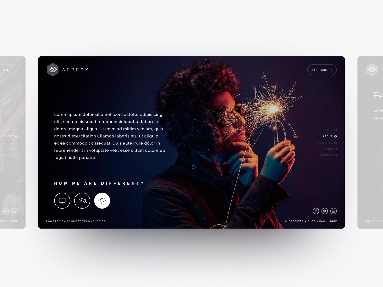 How we are Different? web design ux ui user interface user experience design soumeetra apploitte