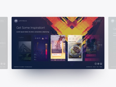Inspiration Page (Approx) UI/UX