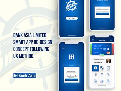 Bank Asia Redesign Concept ux ui app branding