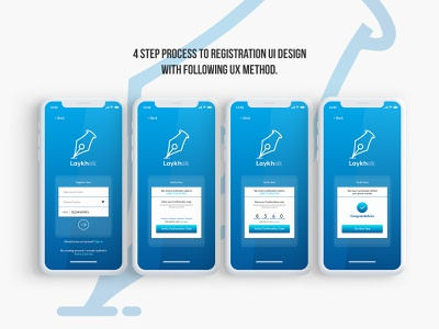 Lekhok App Sign Up Screen app ui ux